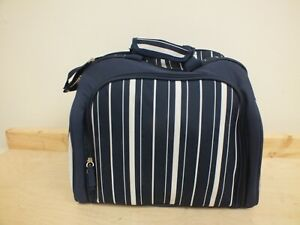 Navy 4 Person Picnic Set Backpack Bag - New (Hol)