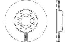 2x OPEN PARTS Discos de freno delanteros Ventilado 288mm Para AUDI A3 BDA2151.20