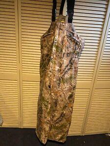 Cabelas Hunting Bibs Zonz Woodland Camo XL tall (Used)