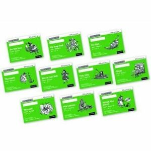 Read Write Inc. Phonics: Black and White Green Set 1 Storybooks Mixed Pack of...