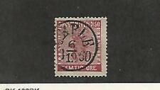 Sweden, Postage Stamp, #12 Nice Cancel Used, 1858, JFZ