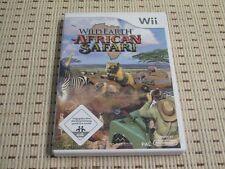 Wild Earth African Safari para Nintendo Wii y Wii U * embalaje original *