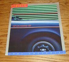 Original 1987 Chevrolet Chevette Sales Brochure 87 Chevy