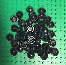 Lego Lot Of 50 Black Minifigure Beanies Caps Mini Figure Accessories New