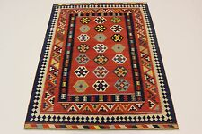 ESCLUSIVO NOMADI kilim fine PEZZO UNICO persiano tappeto Orientale 2,20 x 1,63