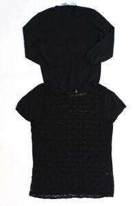 Autumn Cashmere Elie Tahari Womens Solid Print Sweaters Tops Size XS L Lot 2
