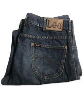 Lee Jeans Mens Size 32 Blue Denim