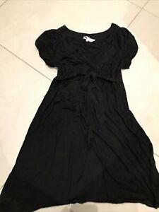 Red Herring Black Maternity Dress Size 12