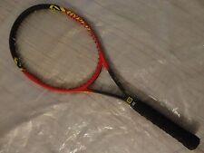 RARE! Wilson Hyper ProStaff 6.1 MidPlus 95in2 DoubleBraid Tennis Racket No.4 VG!