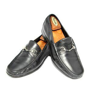 Mens Gucci Silver Horsebit Loafers 015938 Shoes  UK 10 , US 10.5 , Eu 44