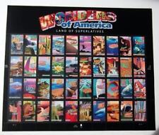 US Sheetlet Wonders of America Land of Superlatives
