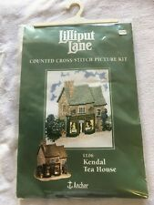 Counte Cross Stitch Kit ( Kendal Tea House ) Anchor Lilliput Lane LL06 NEW RARE