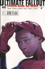 Ultimate Comics Fallout #4 2nd Print Miles Morales Unmasked Variant