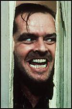 Men's Ladies T Shirt retro classic 80s film movie The Shining horror Nicholson