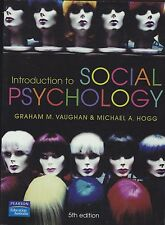 INTRODUCTION TO SOCIAL PSYCHOLOGY - Graham Vaughan & Michael Hogg - 5th edition