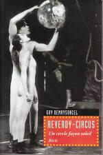 Livre Reverdy Circus un cercle façon soleil book
