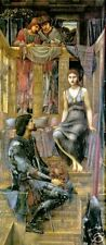 Vintage Old Masters Print King Cophetua and the Beggar Maid