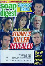 Soap Opera Digest Magazine - October 27, 2009 - All My Children, Greg Vaughan