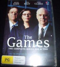 The Games Series 1 & 2 (John Clarke Gina Riley Bryan Dawe) (Au Region 4) DVD NEW