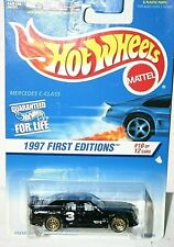 Hot Wheels 1997 First Editions Mercedes C-Class # 516  black