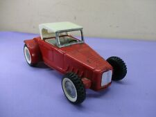 Vintage 1960s Nylint FORD ROADSTER  Tin Toy Car Convertible