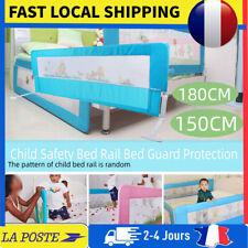 1.5/1.8M Barrière de lit pour bébé enfant système Protection Baby Bed Rail