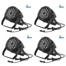 4x ETEC LED Outdoor Scheinwerfer IP65 18x10W RGBW Architekturbeleuchtung Außen