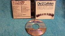 DIE 12 CELLISTEN Der Berliner Philharmoniker CD BEATLES JAPAN 1983 K38Y-8 b3910