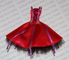 NEW Monster High Scarytales Little Dead Riding Wolf Clawdeen DRESS Replacement L