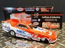Racing Champions Authentics 2000 Gary Densham NEC NHRA 1:24 Diecast Funny Car