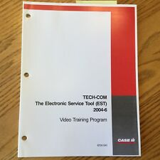 Case International IH TECH-COM ELECTRONIC SERVICE TOOL EST GUIDE MANUAL BOOK