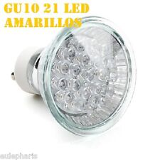 Bombilla GU10 Led 4w de COLOR LUZ VERDE, 230v,Lampara Dicroica 50mm