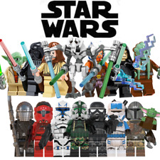 Star Wars Mini Figures - Lego Compatible Clone Troopers Droids Mandalorian Jedi