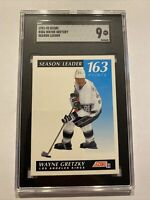 Wayne Gretzky SGC 9 MINT 💎 NHL Hockey Score #406 Collector Card INVEST TODAY NR