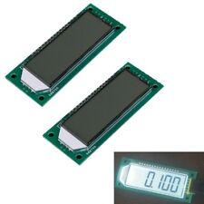 2x 6 Bit 8-Segment LCD Module 3-wires SPI HT1621 Character LCD for Arduino