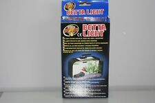 Zoo Med Betta Led Light for all Betta Bowls or Tanks Siamese Fighting Fish.