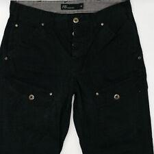 Fishbone W32 L30 schwarz Herren Designer Denim Jeans Hose Vintage Mode Vintage