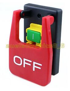 220V-240V 16A 5E4 electromagnetic safety switch emergency stop cover KJD17B NEW
