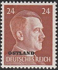 Stamp Germany Ostland Mi 12 1941 WW2 War 3rd Reich Hitler Estonia MNH