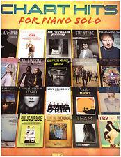 Chart Hits Piano Solo Sheet Music ~ John Legend, Katy Perry, Ed Sheeran, More!