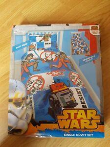 Kids Star Wars Rebels Reversible Single Bedding Set.New and unopened