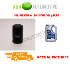 DIESEL OIL FILTER + C1 5W30 OIL FOR MITSUBISHI OUTLANDER 2.2 150 BHP 2012-