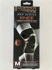 COPPER FIT Pro Series Performance Compression Knee Sleeve~Black~M