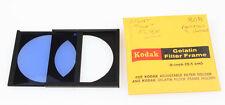 KODAK GEL FILTER FRAME W/ 80B BLUE FILTER