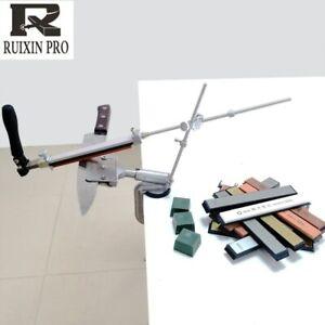 NEW RUIXIN 4 Knife Sharpening Generations Fixed Angle Sharpener Metal Material