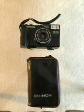 Chinon 35 FS Camera F = 35mm 1:2.8 Chinonex Color Lens Case Included