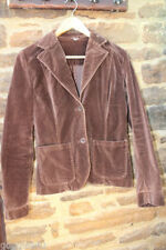 H&M Cotton Patternless Blazer Coats & Jackets for Women