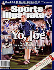 Joe Paterno Penn State Football SIGNED Sports Illustrated 11/28/05 NL COA!