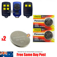 DOMINATOR Remote Battery Replacement DOM501 DOM502 DOM505 YBS2 YBS4 Gate Garage