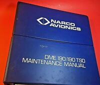 Narco DME Installation Manual 190 TSO 03312-0626 1977